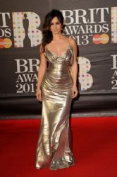 Berenice Marlohe: made her way over to London's O2 Arena for the 2013 BRIT Awards