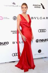 Heidi Klum: 25th Annual Elton John AIDS Foundation's Oscar Viewing Party - Arrivals