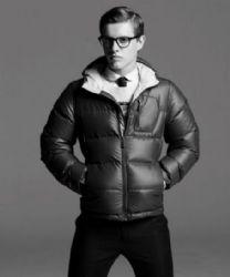 Xavier Samuel in Puffer Jacket