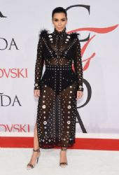 Kim Kardashian wears Proenza Schouler - The 2015 CFDA Awards