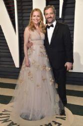 Leslie Mann and Judd Apatow: 2017 Vanity Fair Oscar Party Hosted By Graydon Carter - Arrivals