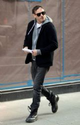 Joaquin Phoenix on movie set of  Untitled James Gray Project
