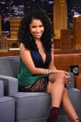 Nicki Minaj wears Stella McCartney - The Tonight Show starring Jimmy Fallon