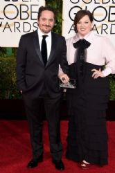 Ben Falcone and Melissa McCarthy: 72nd Annual Golden Globe Awards 2015- Arrivals