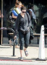 Mandy Moore: in Los Angeles