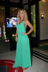 Jessica Cirio: party at the island of Caras