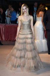 Sarah Gadon wears Armani Privé - 'The Birdman' Venice Film Festival Premiere