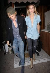 Cody Simpson & Gigi Hadid spotted leaving The Nice Guy restaurant in West Hollywood