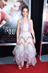 Emilia Clarke in Chloe : Me Before You' New York World Premiere