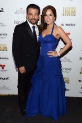 David Barrera and Maria Canals Barrera: 2014 NCLR ALMA Awards - Red Carpet