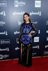 Victoria Justice  at the 28th Annual GLAAD Media Awards in Beverly Hills, CA