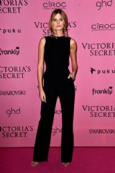 Constance Jablonski wears Mugler - Victoria's Secret Show After Party