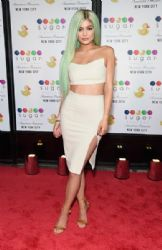 Kylie Jenner attends the Grand Opening of the Sugar Factory American Brasserie in New York City