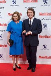 Raphael and Natalia Figueroa: Men's Health Awards 2014 in Madrid