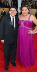Rico Rodriguez and Raini: 19th Annual Screen Actors Guild Awards