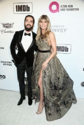 Tom Kaulitz and Heidi Klum: IMDb LIVE At The Elton John AIDS Foundation Academy Awards Viewing Party