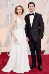 Joanna Newsom and Andy Samberg : 87th Annual Academy Awards 2015