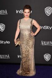 Alyssa Milano: InStyle And Warner Bros. Golden Globes 2015 Party