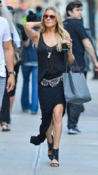 LeAnn Rimes and her husband Eddie Cibrian out shopping at John Varvatos in New York City