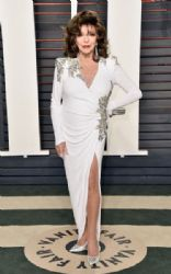 Joan Collins: 2016 Vanity Fair Oscar Party Hosted By Graydon Carter - Arrivals