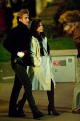 Eva Mendes and Ryan Gosling Out in Paris