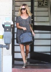 Ashley Tisdale: running some errands in Los Angeles