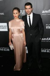 Cara Santana and Jesse Metcalfe attend amfAR LA Inspiration Gala