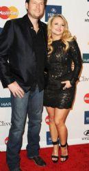 Miranda Lambert & Blake Shelton: Clive Davis Pre-Grammy Gala