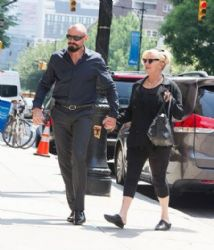 Hugh Jackman and Deborra-Lee Furness: NY look