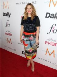 Drew Barrymore wears Zara - The Daily Front Row Fashion Los Angeles Awards