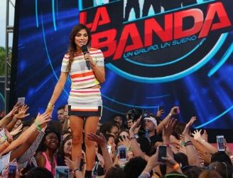 Alejandra Espinoza: on stage