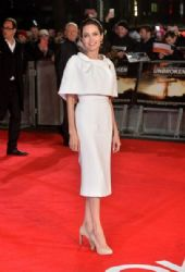 Angelina Jolie attends the UK Premiere of