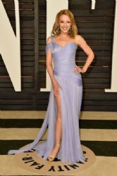 Kylie Minogue: 2015 Vanity Fair Oscar Party