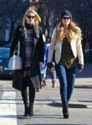 Paris and Nicky Hilton enjoy a day of shopping together in New York City