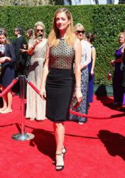 Judy Greer wears Reed Krakoff - Creative Arts Emmy Awards 2014
