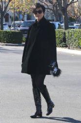 Kris Jenner out shopping in Calabasas, California on December 27, 2014