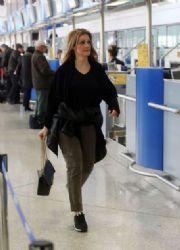 Natasa Theodoridou: airport look