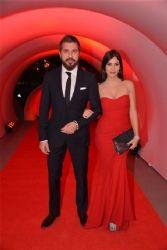 Engin Altan Düzyatan and Neslişah Alkoçlar attends 'Gala Modern' Aid Night