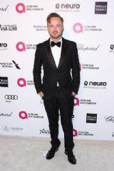 Aaron Paul: Elton John AIDS Foundation Oscars 2015 Viewing Party