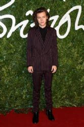 Harry Styles wears Lanvin - 2014 British Fashion Awards