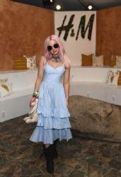Dove Cameron: H&M Loves Coachella Tent at The Empire Polo Field
