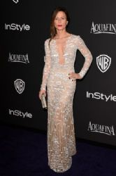 Rhona Mitra : InStyle And Warner Bros. Golden Globes 2015 Party