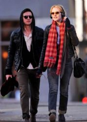 Evan Rachel Wood & Jamie Bell: Bleecker Playground Pair