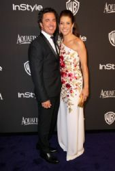 Chris Case and Kate Walsh: InStyle And Warner Bros. Golden Globes 2015 Party