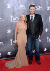 Miranda Lambert and Blake Shelton: 49th Annual Academy Of Country Music Awards