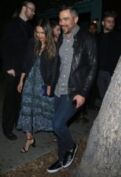 Jessica Alba and Cash Warren Attend Jennifer Meyer's 40th Birthday Party