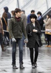 Carly Rae Jepsen: went for a romantic stroll in downtown Paris