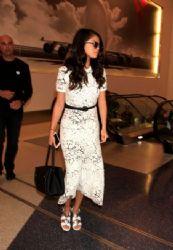 Selena Gomez Lax Airport In Los Angeles October 9,2015