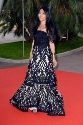 Anggun: Arrivals at the World Music Awards