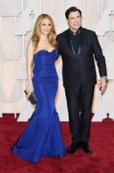 Kelly Preston and John Travolta: 87th Annual Academy Awards 2015